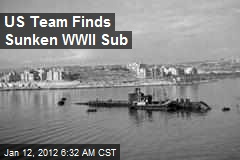 US Team Finds Sunken WWII Sub