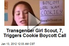 Transgender Girl Scout, 7, Triggers Cookie Boycott Call