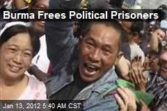 Burma Frees Political Prisoners