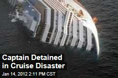 Italian Captain Arrested after Luxury Liner Runs Aground