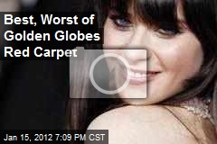 Best, Worst of Golden Globes Red Carpet