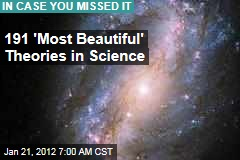 'Most Beautiful Theories' in Science Include Relativity and Theory of Evolution