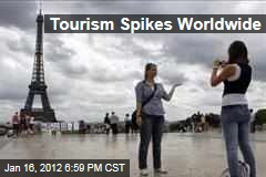 Tourism Spikes Worldwide