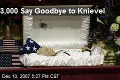 3,000 Say Goodbye to Knievel