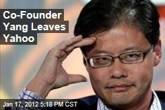 Jerry Yang Quits Yahoo Board