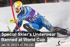 Special Skier's Underwear Banned at World Cup