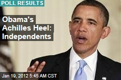President Obama Faces Struggle for Independents in Election 2012
