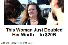 This Woman Just Doubled Her Worth ... to $20B