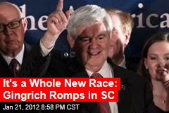 Gingrich Predicted to Win SC