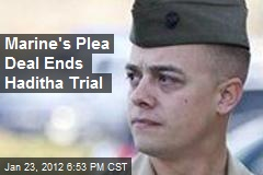 Marine's Plea Deal Ends Haditha Trial