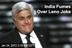 India Fumes Over Jay Leno Joke