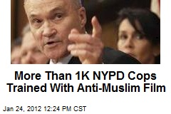 More Than 1K NYPD Cops Trained With Anti-Muslim Film