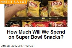 How Much Will We Spend on Super Bowl Snacks?