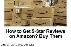 How to Get 5-Star Reviews on Amazon? Buy Them