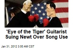 Eye of the Tiger Writer Suing Gingrich