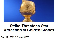 Strike Threatens Star Attraction at Golden Globes