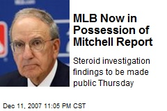 MLB Now in Possession of Mitchell Report
