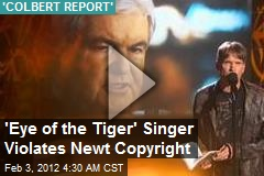 'Eye of the Tiger' Singer Violates Newt Copyright