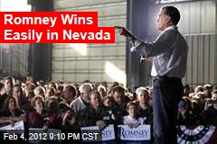 Romney Poised for Nevada Win