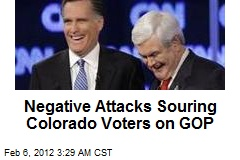 Negative Attacks Souring Colo. Voters on GOP