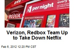 Verizon, Redbox Team Up to Take Down Netflix