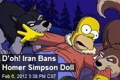 D'oh! Iran Bans Homer Simpson Doll