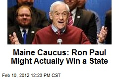 Maine Caucus: Ron Paul Might Actually Win a State