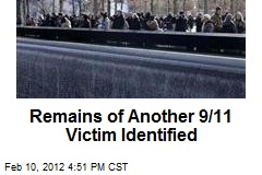 Remains of Another 9/11 Victim Identified