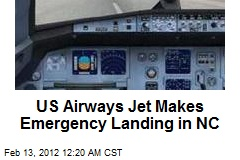US Airways Jet Makes Emergency Landing in NC