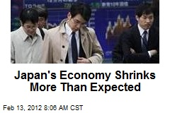 Japan's Economy Shrinks More Than Expected