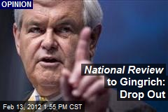National Review to Gingrich: Drop Out