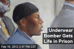 Underwear Bomber Gets Life in Prison