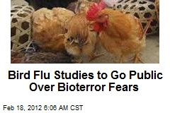WHO: Bird Flu Research Can Be Published