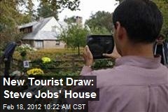 New Tourist Draw: Steve Jobs' House