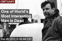 One of World's Most Interesting Men Is Dead