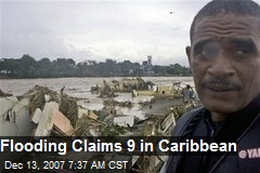 Flooding Claims 9 in Caribbean