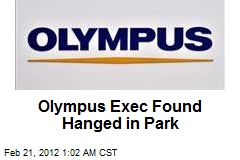 Olympus Exec Found Hanged in Park
