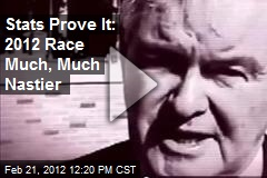Stats Prove It: 2012 Race Much, Much Nastier