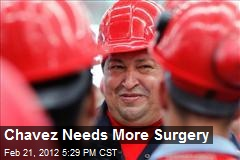 Chavez Needs More Surgery