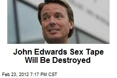 John edwards sex tape rielle