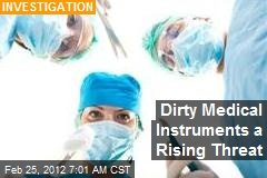 Dirty Medical Instruments a Rising Threat