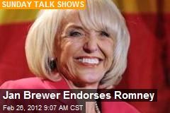 Jan Brewer Endorses Romney