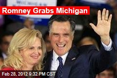 Romney Wins Michigan