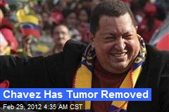 Chavez Has Cancer Surgery in Cuba