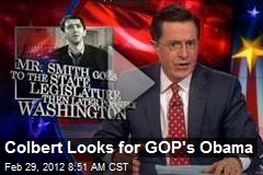 Colbert Looks for GOP's Obama