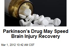 Parkinson's Drug May Speed Brain Injury Recovery