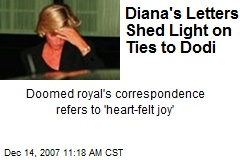 Diana's Letters Shed Light on Ties to Dodi