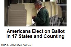 Americans Elect on Ballot in 17 States and Counting