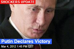 Putin Wins Russian Presidency