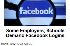 Some Employers, Schools Demand Facebook Logins